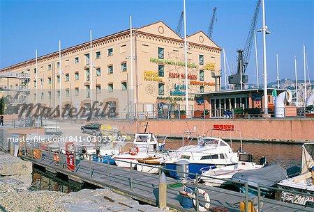 Former cotton entrepot, Pavilion of the sea, Children's city, Porto Antico (Old Port), Genoa (Genova), Liguria, Italy, Europe