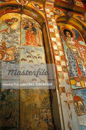 Narga Selassi church,Isle of Dek,Lake Tana,Gondar region,Ethiopia,Africa
