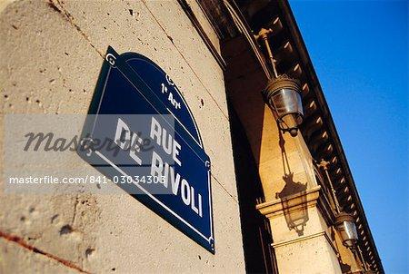 Rue de Rivoli,Paris,France