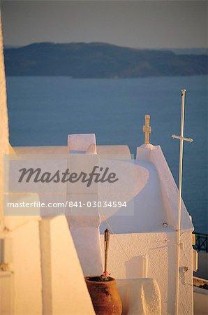 Thira (Fira),Santorini,Cyclades Islands,Greece,Europe