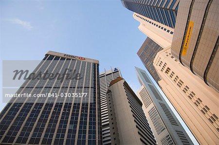 Skyscrapers,Singapore,Southeast Asia,Asia