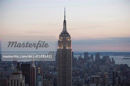 Evening,Manhattan,New York,United States of America,North America