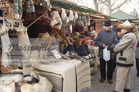 Christmas Market,Budapest,Hungary,Europe