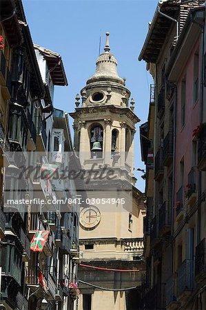 Cathedral church, Pamplona, Navarra, Euskadi, Spain, Europe