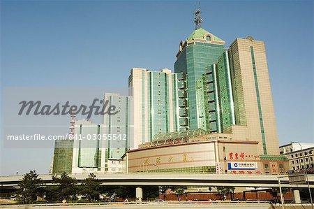 modern buildings near beijing north train station xizhimen district
