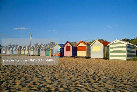 Beach huts at Brighton Beach, Melbourne, Victoria, Australia, Pacific