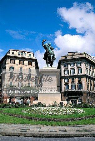 Piazza Corvetto, Genoa (Genova), Liguria, Italy, Mediterranean, Europe