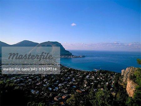 Mondello, island of Sicily, Italy, Mediterranean, Europe