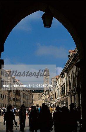 Gate, Dubrovnik, Dalmatia, Croatia, Europe