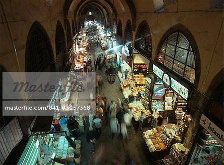 The Grand Bazaar (Great Bazaar) (Kapali Carsi), Istanbul, Turkey, Europe, Eurasia