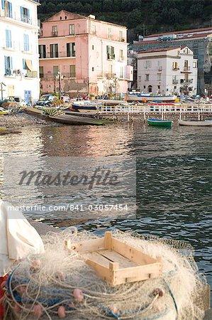 Fishing port, Sorrento, Campania, Italy, Europe