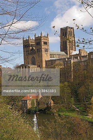 Durham Cathedral, UNESCO World Heritage Site, Durham City, Co. Durham, England, United Kingdom, Europe
