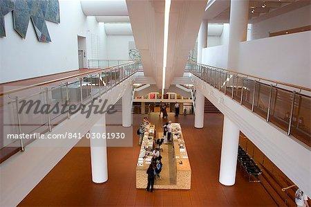 Reception area, Ludwig museum, Cologne, North Rhine Westphalia, Germany, Europe