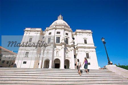Panteao Nacional (National Pantheon) in the Igreja de Santa Engracia, Alfama, Lisbon, Portugal, Europe