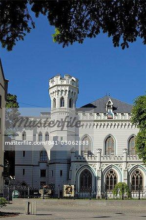 Maza Gilde (Small Guild of St. Mary's), Livu lakums (Livu Square), Riga, Latvia, Baltic States, Europe