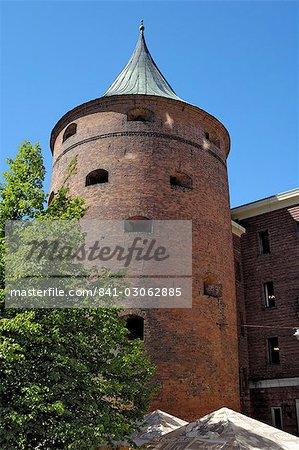 Powder Tower, Riga, Latvia, Baltic States, Europe
