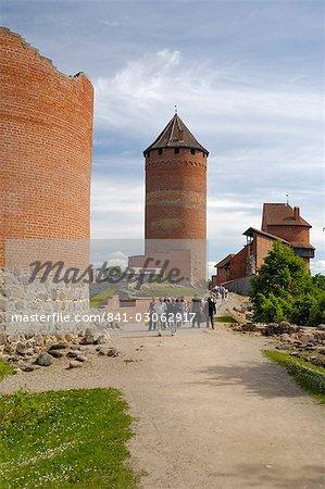 Turaida Castle, near Sigulda, Latvia, Baltic States, Europe