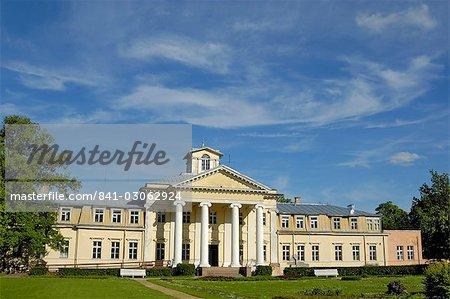 Krimulda Palace, near Sigulda, Latvia, Baltic States, Europe