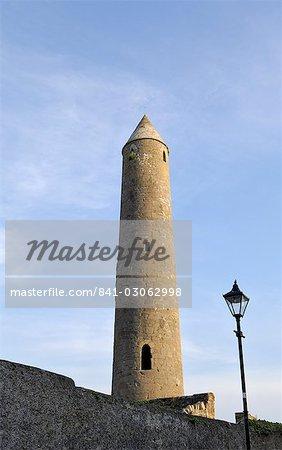 Killala Round Tower, County Mayo, Connacht, Republic of Ireland, Europe