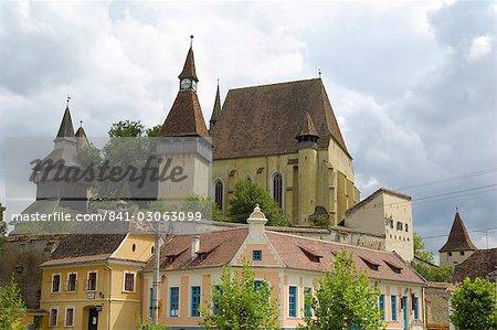 Fortified church of Biertan, UNESCO World Heritage Site, Transylvania, Romania, Europe