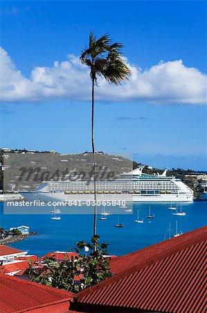 City of Charlotte Amalie, St. Thomas Island, U.S. Virgin Islands, West Indies, Caribbean, Central America