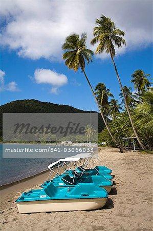 Purple Turtle Beach Club, Prince Rupert Bay, Portsmouth, Dominica, Lesser Antilles, Windward Islands, West Indies, Caribbean, Central America