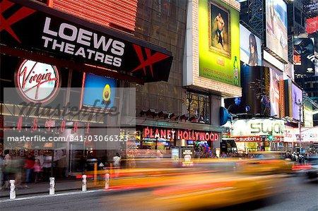 Times Square, Midtown Manhattan, New York City, New York, United States of America, North America