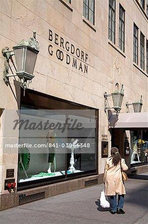Bergdorf Goodman store, Midtown Manhattan, New York City, New York, United States of America, North America