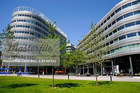 Modern Office building, Manchester, England, United Kingdom, Europe