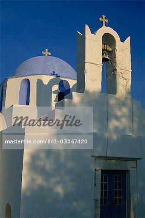 Church on the waterfront, Parikia, Paros, Cyclades, Greek Islands, Greece, Europe