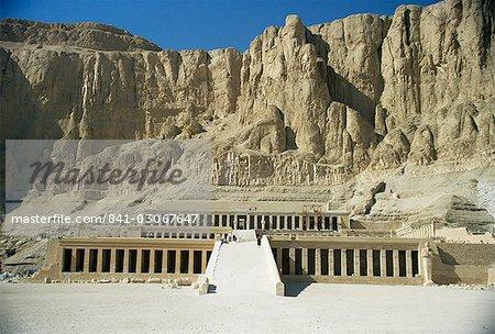 Temple of Hatshepsut, Deir el Bahri, UNESCO World Heritage Site, Thebes, Egypt, North Africa, Africa