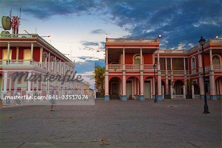Park Colon (Park Central), Granada, Nicaragua, Central America