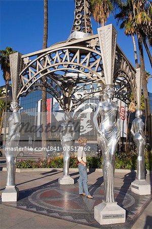 Walk of Fame Gazebo, Hollywood Boulevard, Hollywood, California, United States of America, North America