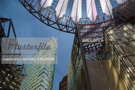 Sony Centre, Potsdamer Platz, Berlin, Germany, Europe