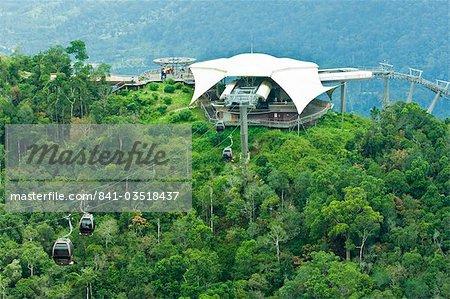 Canopy cable car tour, Langkawi Island, Malaysia, Southeast Asia, Asia