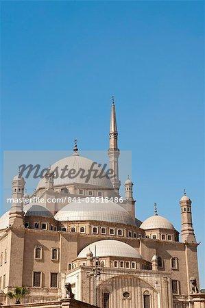 Mosque of Muhammad Ali Pasha (Alabaster Mosque), The Citadel, Cairo, Egypt, North Africa, Africa