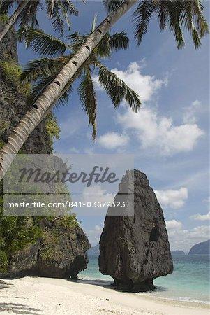 Entalula Island, Bacuit Bay, Palawan, Philippines, Southeast Asia, Asia