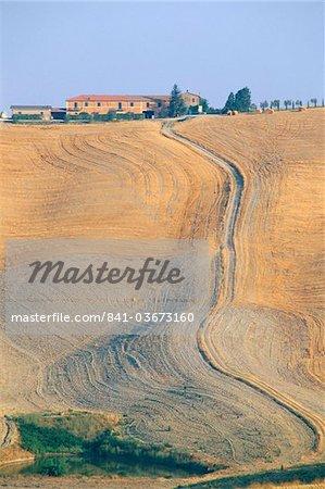 Crete Senesi, Siena province, Tuscany, Italy, Europe