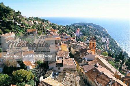 Roquebrune, Cote d'Azur, Alpes-Maritimes, Provence, France, Mediterranean, Europe