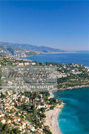 Cap Martin, Cote d'Azur, Alpes-Maritimes, Provence, French Riviera, France, Mediterranean, Europe