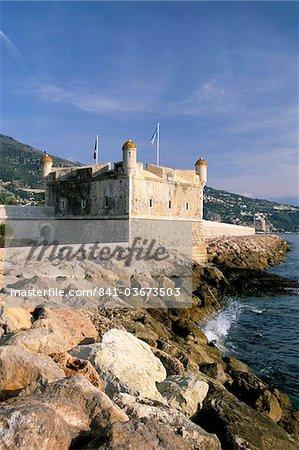 Jean Cocteau Museum, Bastion, Menton, Alpes-Maritimes, Cote d'Azur, Provence, French Riviera, France, Mediterranean, Europe