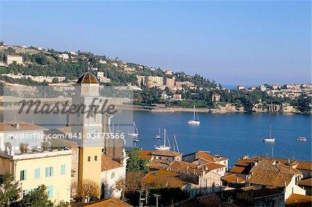 Villefranche sur Mer, Alpes-Maritimes, Cote d'Azur, Provence, French Riviera, France, Mediterranean, Europe