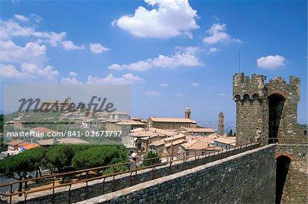 Montalcino, Val d'Orcia, Siena province, Tuscany, Italy, Europe