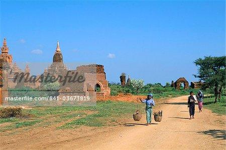 Bagan (Pagan) archaeological site, Mandalay Division, Myanmar (Burma), Asia