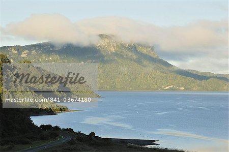 Lake Waikaremoana, Te Urewera National Park, Bay of Plenty, North Island, New Zealand, Pacific