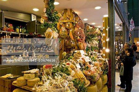 Central Market, San Lorenzo, Florence, Tuscany, Italy, Europe