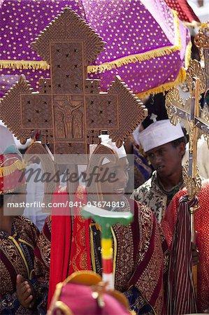 Timkat festival, Gondar, Ethiopia, Africa