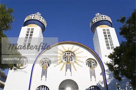 Cathedral Nuestra de Senora de la Soledad in Old Town Acapulco, State of Guerrero, Mexico, North America