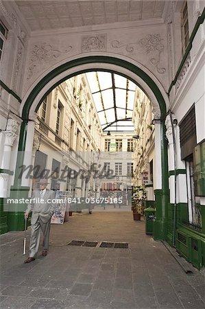 Indoor shopping mall, Historic Center, Quito, Ecuador, South America