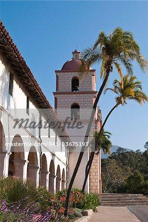 Santa Barbara Mission, Santa Barbara, California, United States of America, North America